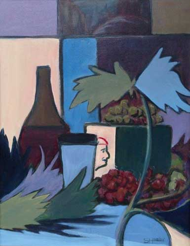 Sheila Hardy - Still Life with Grapes